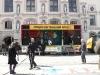 Der MKW als Bühne vor dem Lüneburger Rathaus